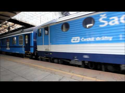 Chess Train 2015 departure from Prague