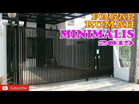 DESAIN PAGAR RUMAH MINIMALIS UNTUK RUMAH SUBSIDI - YouTube