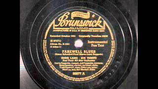 Eddie Lang & Joe Venuti - Farewell Blues (1931)