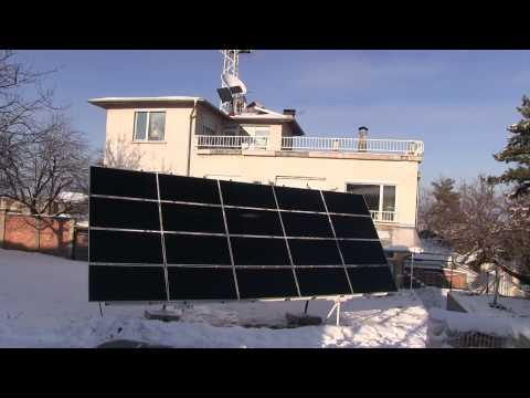 Слънчев дом - малка фотоволтаична соларна инсталация