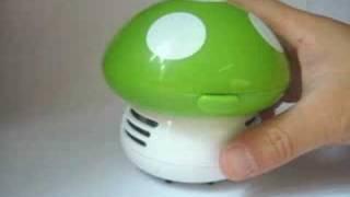 LOCOMO - Mini Desktop Mushroom Vacuum Cleaner
