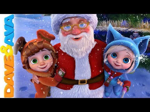 🎄 We Wish You A Merry Christmas And More Christmas Songs For Kids | Dave And Ava ☃️