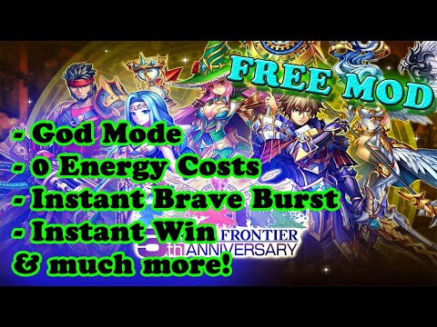 FREE! Brave Frontier Ver. 2.12.2.0 Global MOD APK | God Mode | 0 Energy Costs | Instant BB | Parades