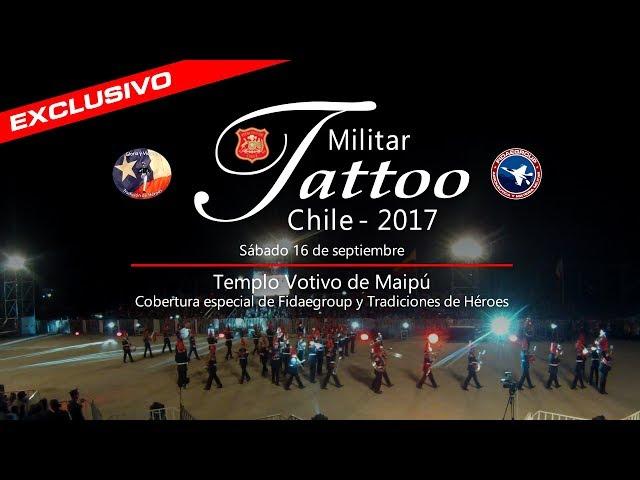 Tattoo Militar Chile 2017 en Templo Votivo Maipú / Chilean Military Tattoo / Festival Militar