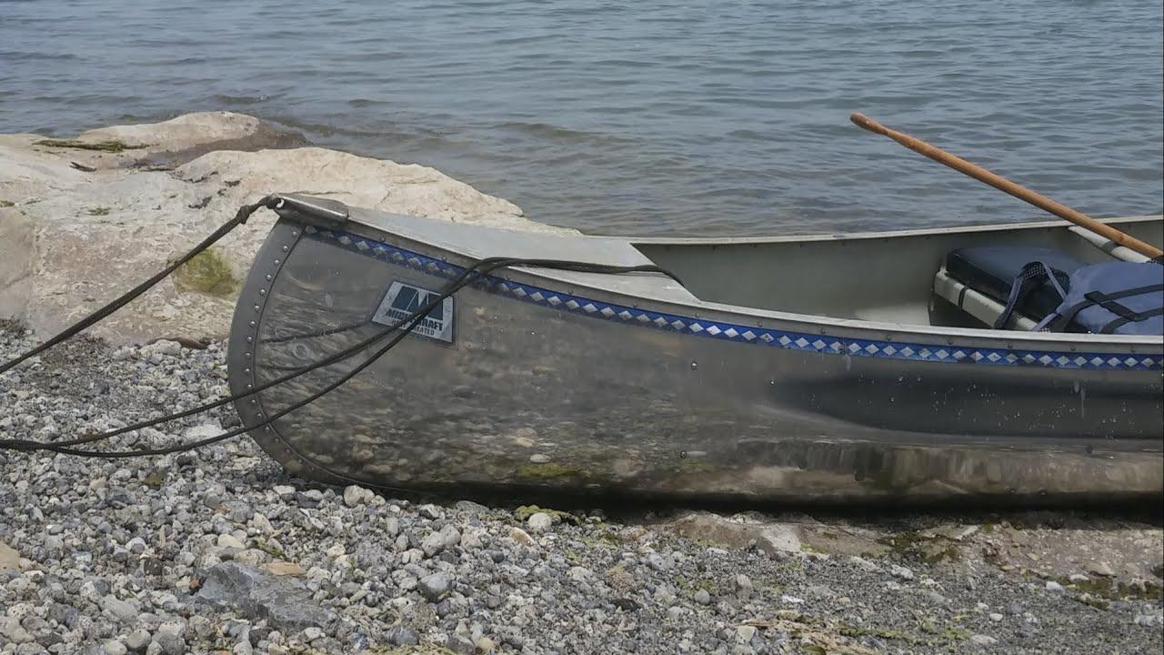 Polishing an Aluminum Canoe
