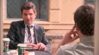 Parks and Recreation - Andy hugs Ben