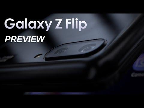 Samsung Galaxy Z Flip Preview