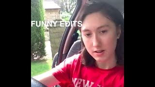 Me in my mums car (FUNNY EDITS)