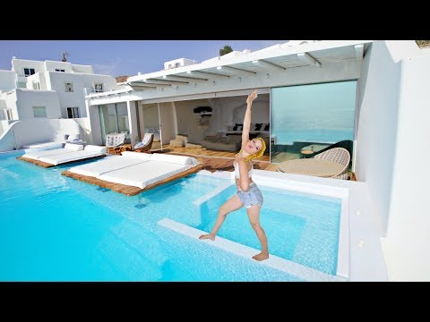Greece Hotel Mansion Tour!