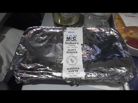 Kosher Meal - Lufthansa Flight LH520 From Munchen To Mexico City