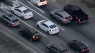 Robbery ... California police car chase