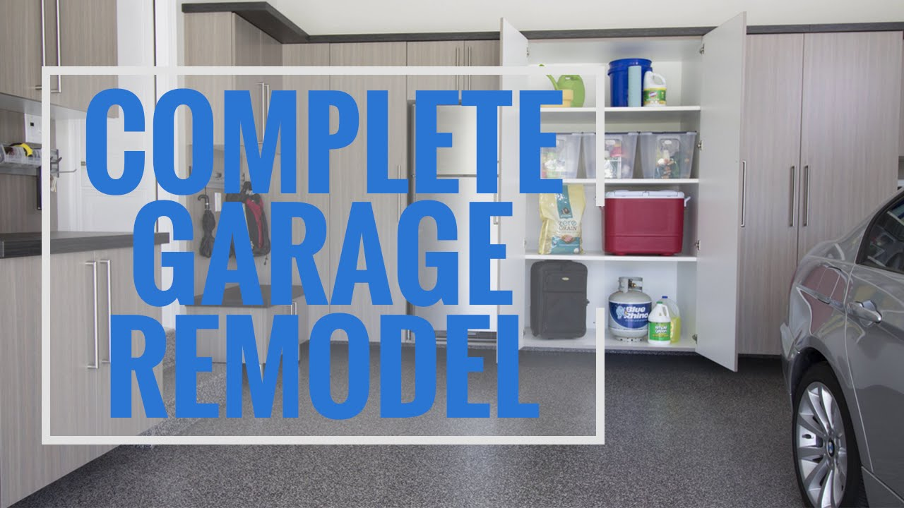 Complete Garage Remodel - Ohio Garage Interiors