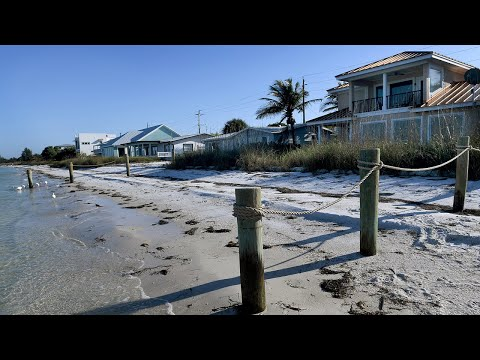 Some Residents Constructed Fences On Anna Maria Beaches. Not So Neighborly?