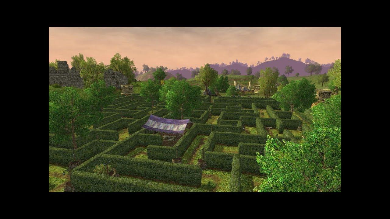 Lotro The Hedge Maze Spring Festival Youtube