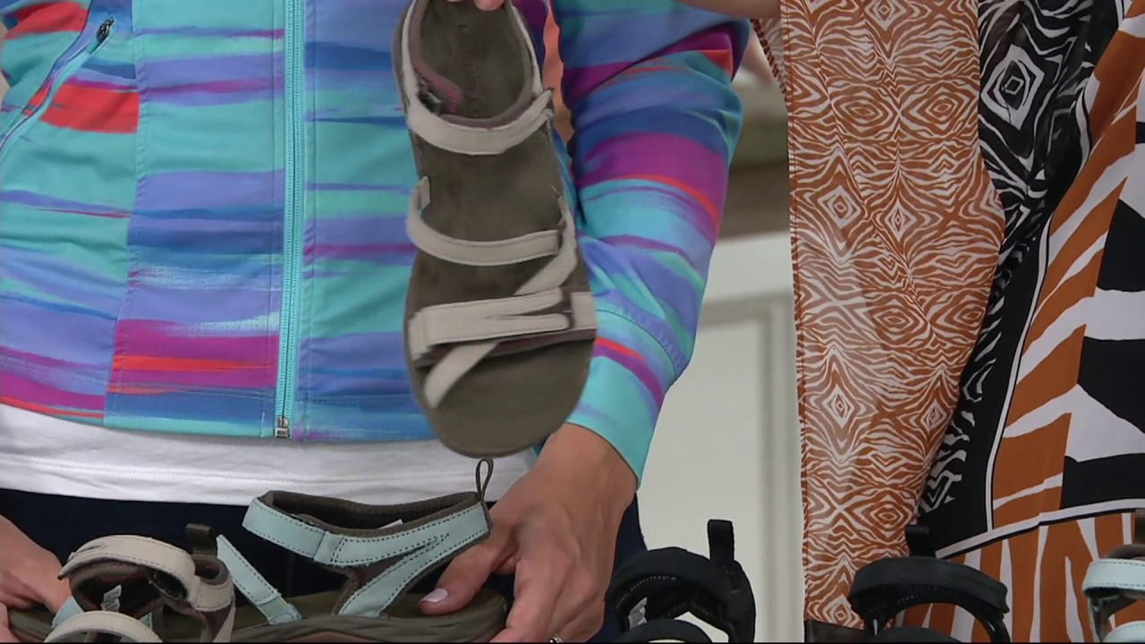 43cd3b467a60 Merrell Multi-Strap Sport Sandals - Siren Strap Q2 on QVC - YouTube