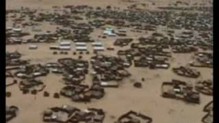 Aerial Views of the Darfur Refugee Camps in Chad
