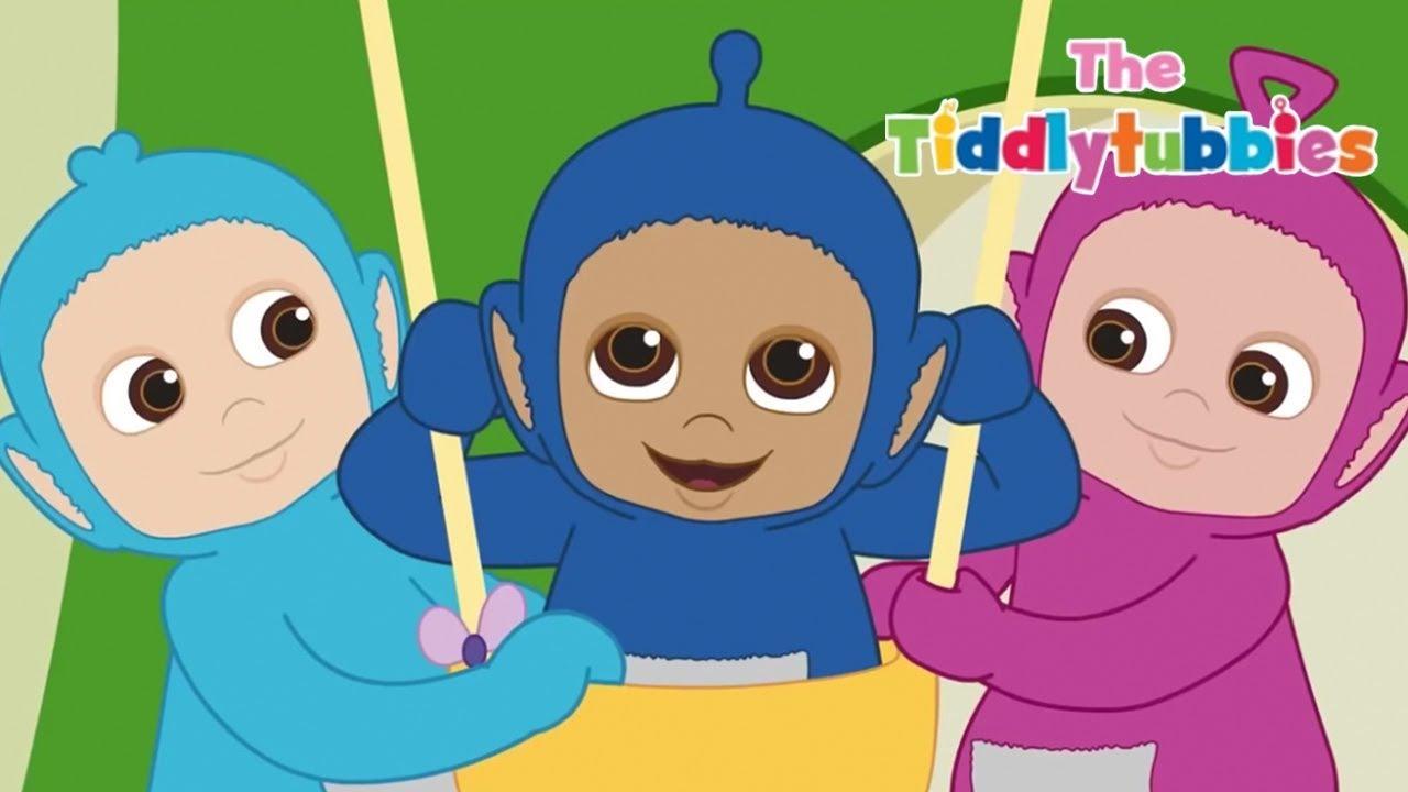 Teletubbies ☆ NEW Tiddlytubbies Cartoon Series! ☆ Episode 1  Bouncing Baa ☆  Videos For 548a5b6804345