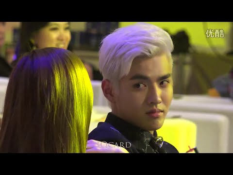 141223 Kris Wu, Jessica and Kiko fancam #KrisSica