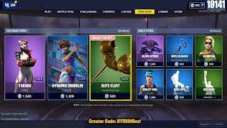 🔴 Soccer skins are BACK! June 1st Fortnite Daily Item Shop