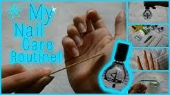 My Nail Care Routine! | Amaya Papaya