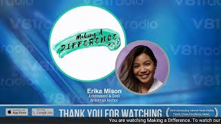 Making a Difference, Hosted by Erika Mison | The Rise of the Moreno/Morena Culture