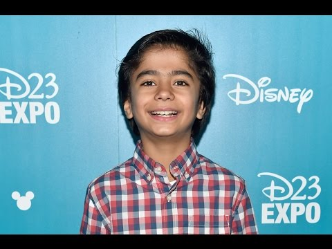 The Jungle Book D23 Expo Interview - Neel Sethi