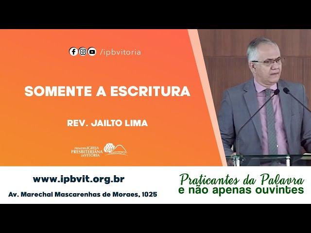 Rev. Jailto Lima - Esdras 7.10
