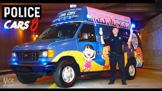 POLICE CARS (ICE CREAM TRUCK Ford Econoline Sunrise Police Department)