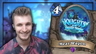 Knights Of The Frozen Throne Card Reveal Rap: Meat Wagon