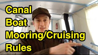 The Continuous Cruising Rules for Canal Boats! (14 Day Mooring Rule)