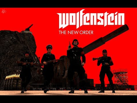 Wolfenstein The New Order Playthrough Part 1 Interactive Livestreamer And Chatroom