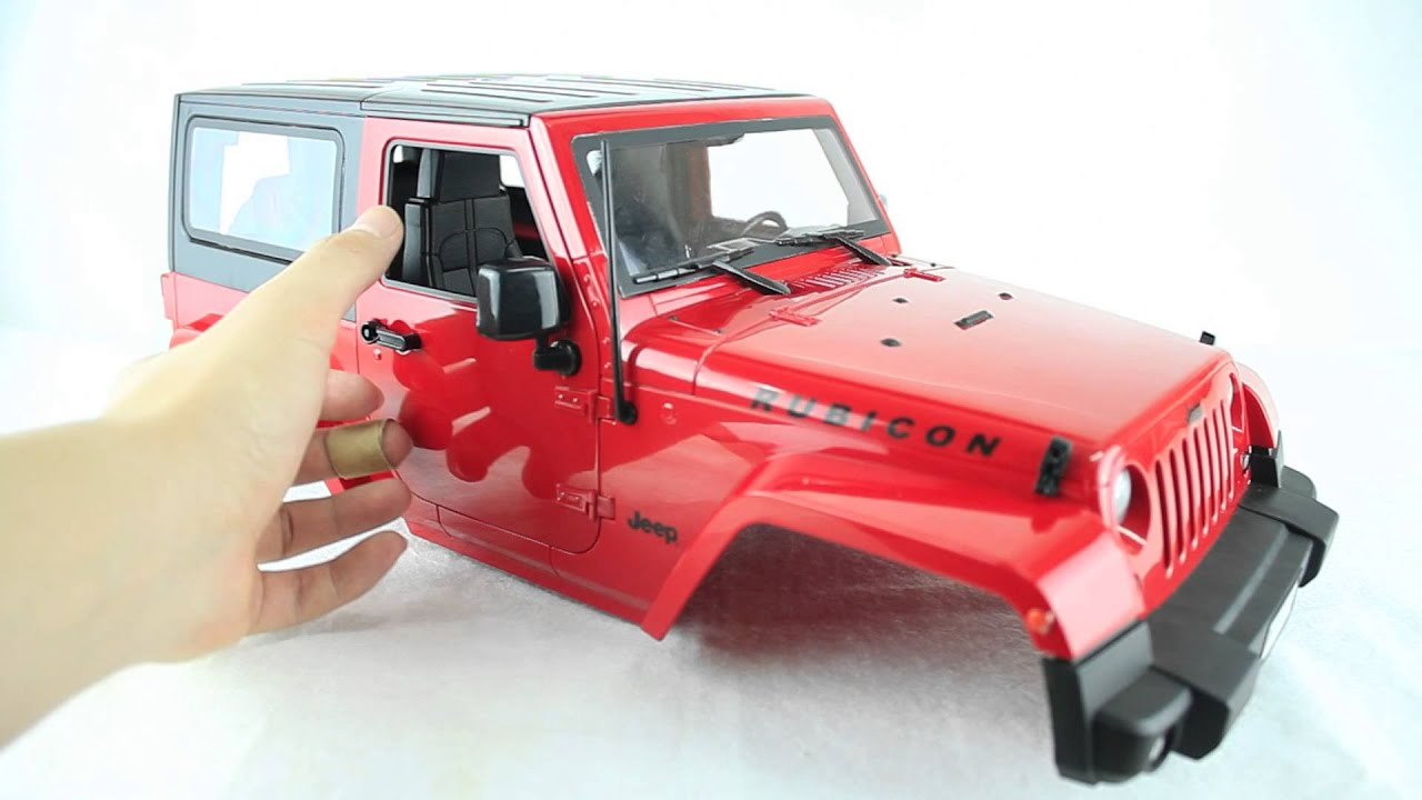 Boom Racing Jeep Wrangler Rubicon 1 10 Rtr Body For Axial
