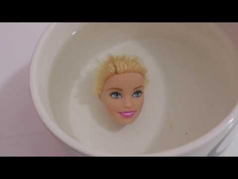 Barbie Peruk Yapımı 1 - Bidünya Oyuncak