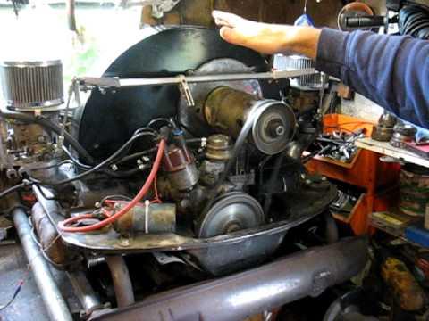 1641 tp Engine with Dellorto 36 carbs
