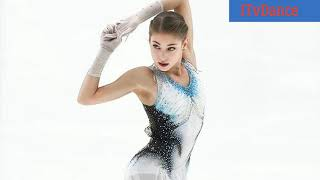 Interview Alena Kostornaia offensive for points in the short program at the Grand Prix stage France