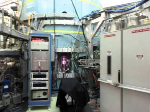 An 8T plasma discharge at the Alcator C-Mod tokamak