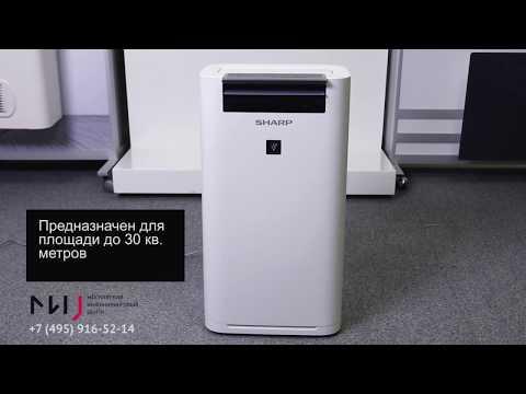 Климатический комплекс Sharp KC-G61RW. Видео 1