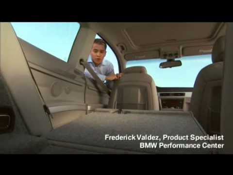 3 Series Rear Fold Down Seats Owner S Manual Youtube