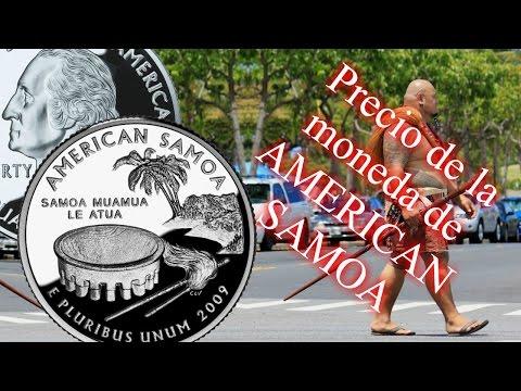 Cuarto de dólar de American Samoa- Precio y detalles- (distritos y territorios) Nº 4