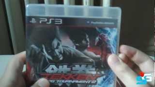 Tekken Tag Tournament 2 Unboxing with Gameplay