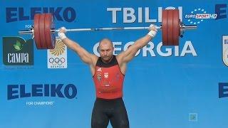 Чемпионат Европы 2015. Мужчины в.к. до 105 кг.