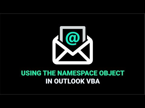 Using The Namespace Object In Outlook VBA
