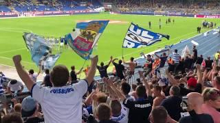 Zebras in Braunschweig (Eintracht Braunschweig - MSV Duisburg 0:3, 05.08.2019)