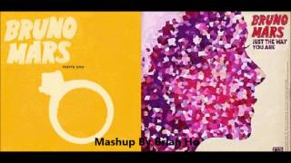 Bruno Mars Mashup - Marry You x Just The Way You Are