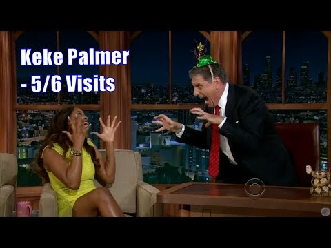 Keke Palmer - Craig Is Actually Her Father - 5/6 Visits In Chronological Order [720-1080]