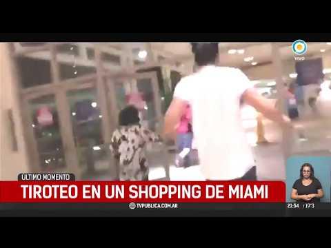 Pánico en el Aventura Mall de Miami por un tiroteo que no existió | #TPANoticias