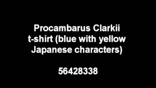 Lost Planet 2 PROCAMBARUS CLARKII T SHIRT BLUE WITH YELLOW JAPANESE CHARACTERS