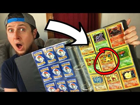 BOUGHT SOMEONE'S CHILDHOOD POKEMON CARDS COLLECTION! Opening it