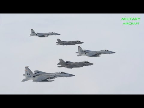5th-Gen Fighters Tag-Team in Air Force Red Flag Exercises