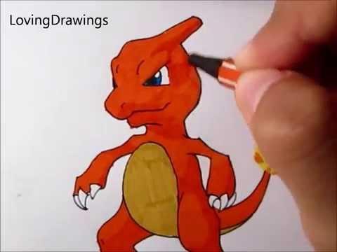 Pokémon Special-Drawing Charmeleon